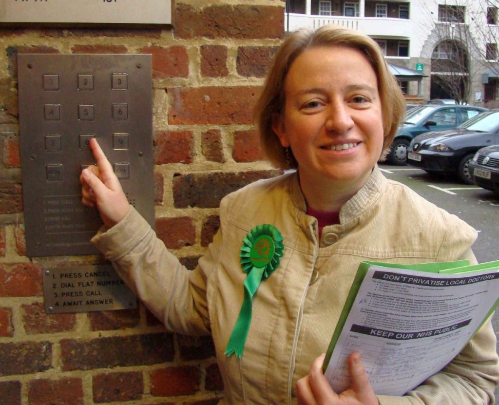 Natalie Bennett was editor of the Guardian Weekly between 2007 and March 2012