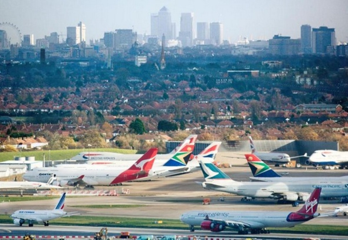 Heathrow airport talks of expansion and Bristol airport responds.