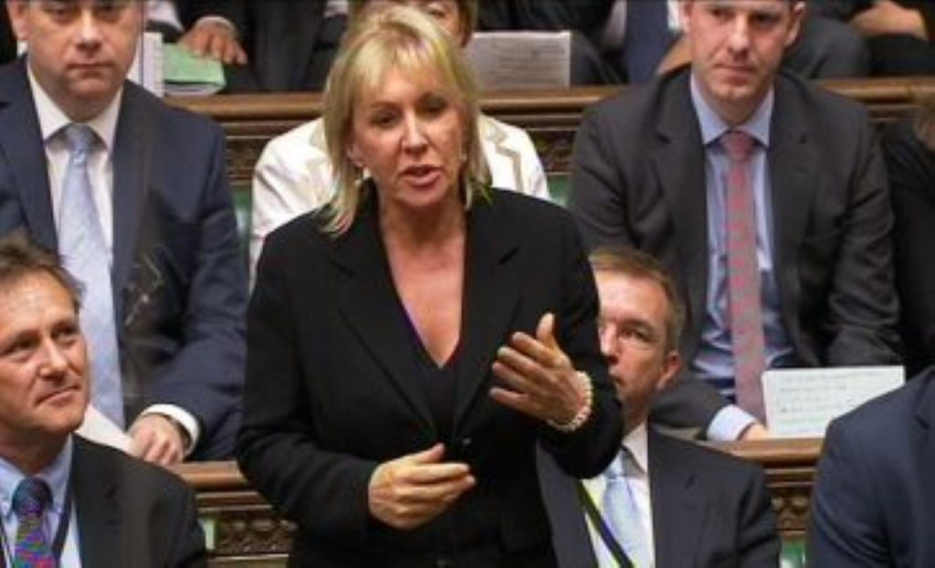 Nadine Dorries: We won't be seeing much of her in Westminster this month