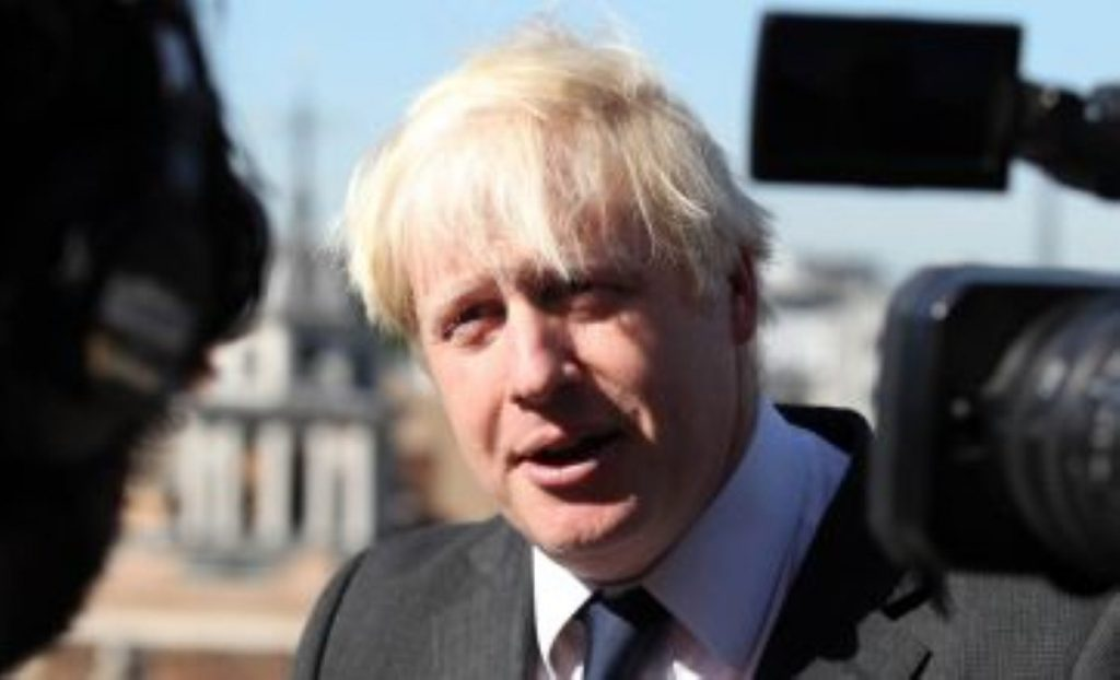 Boris Johnson remains committed to his estuary airport.