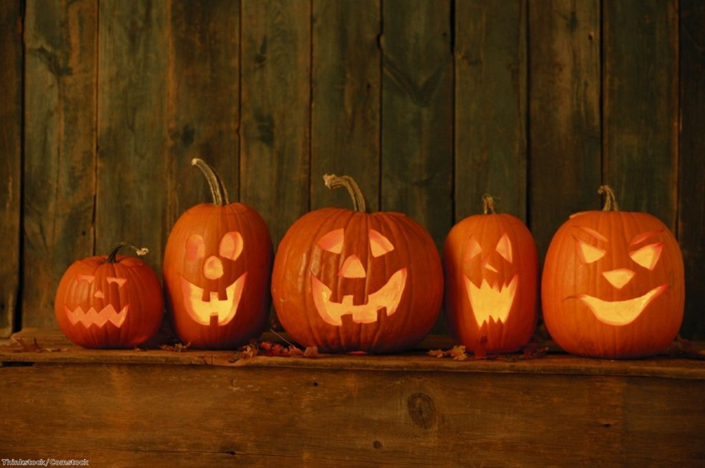 It's estimated that over a million pumpkins are purchased every year in the UK for decoration purposes