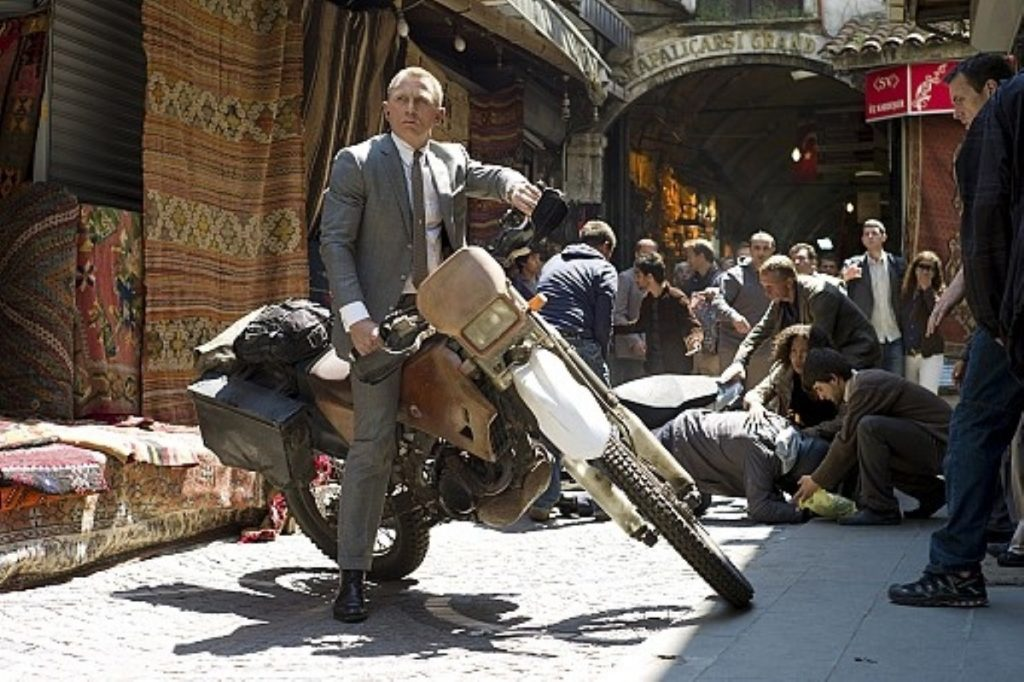 Skyfall performed strongly in the UK but Chinese audiences will mostly see an edited version