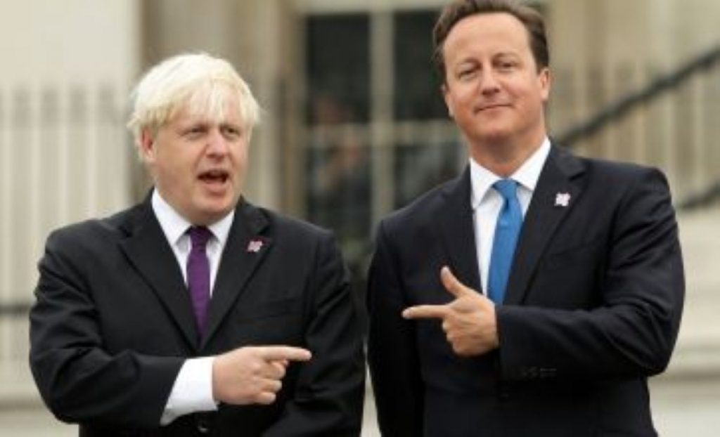 David Cameron is showering Boris Johnson with praise: A coping mechanism after a testy summer?