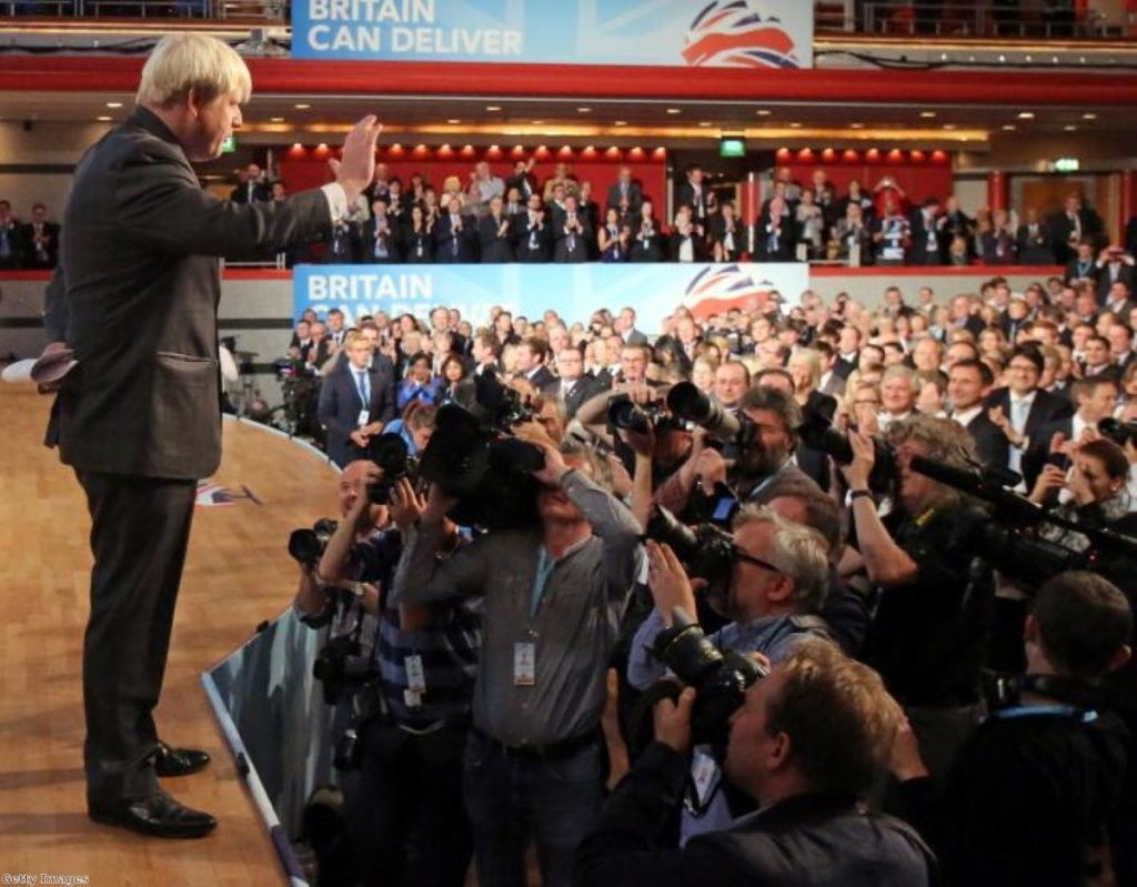 Adulation for Boris: The mayor of London laps up the applause