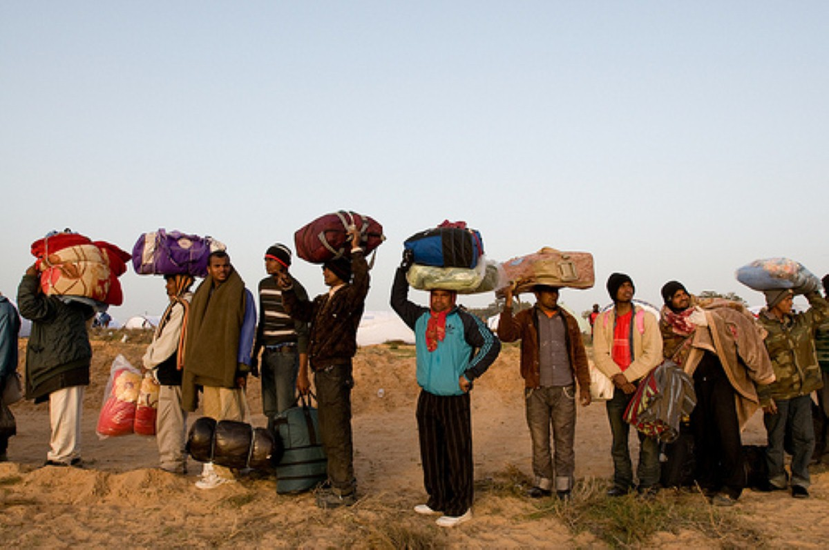 Libya migrant workers: Chaos in the country could be encouraging the migrant boats