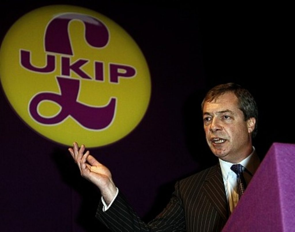"""Nigel Farage's Ukip are becoming the """"third force"""" in British politics, Farage claims"""