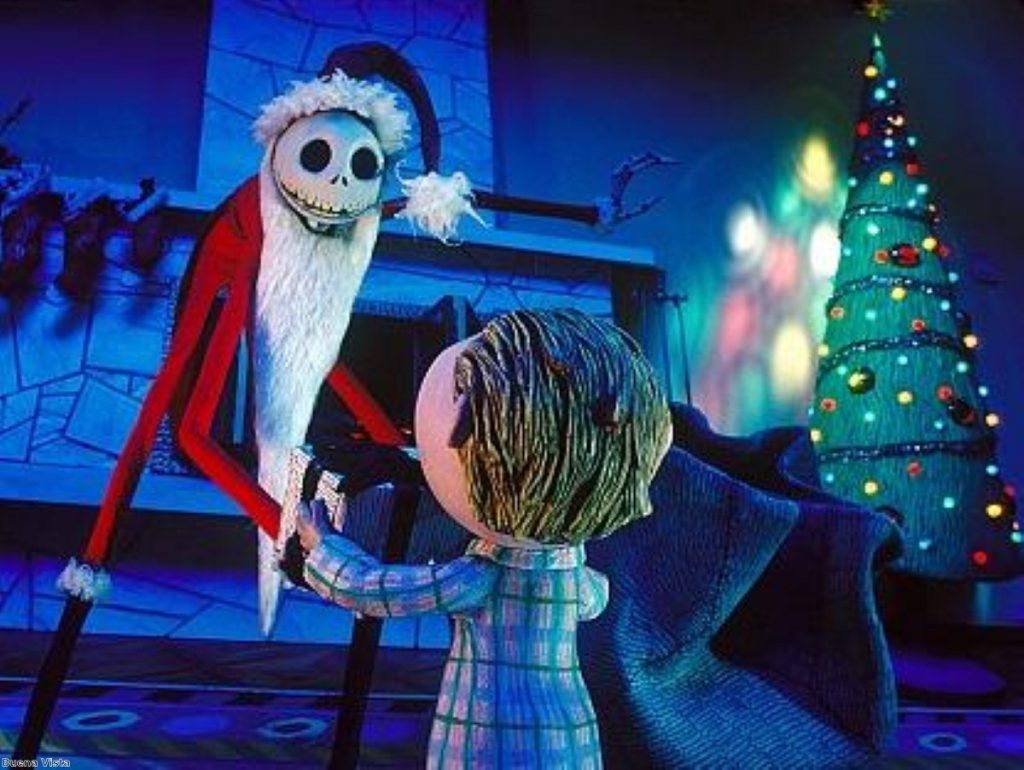Tim Burton's Nightmare Before Christmas is thoroughly suited to austerity Britain...