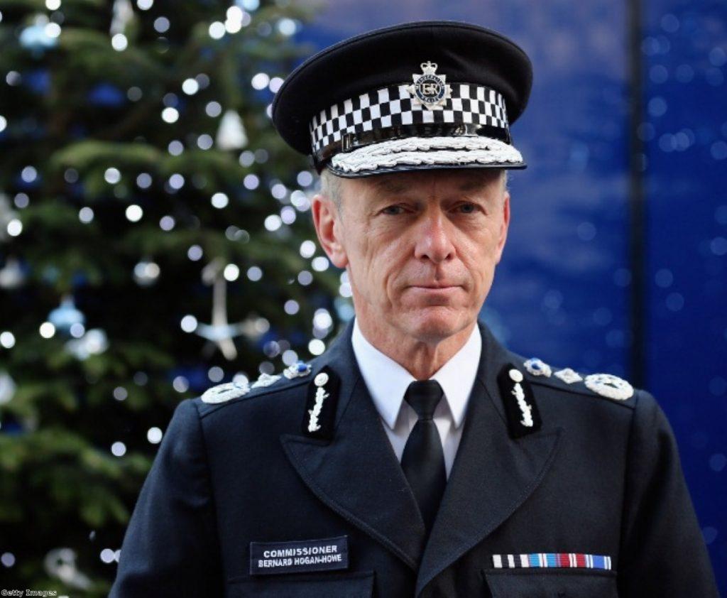 Bernard Hogan-Howe faces a troubled festive period