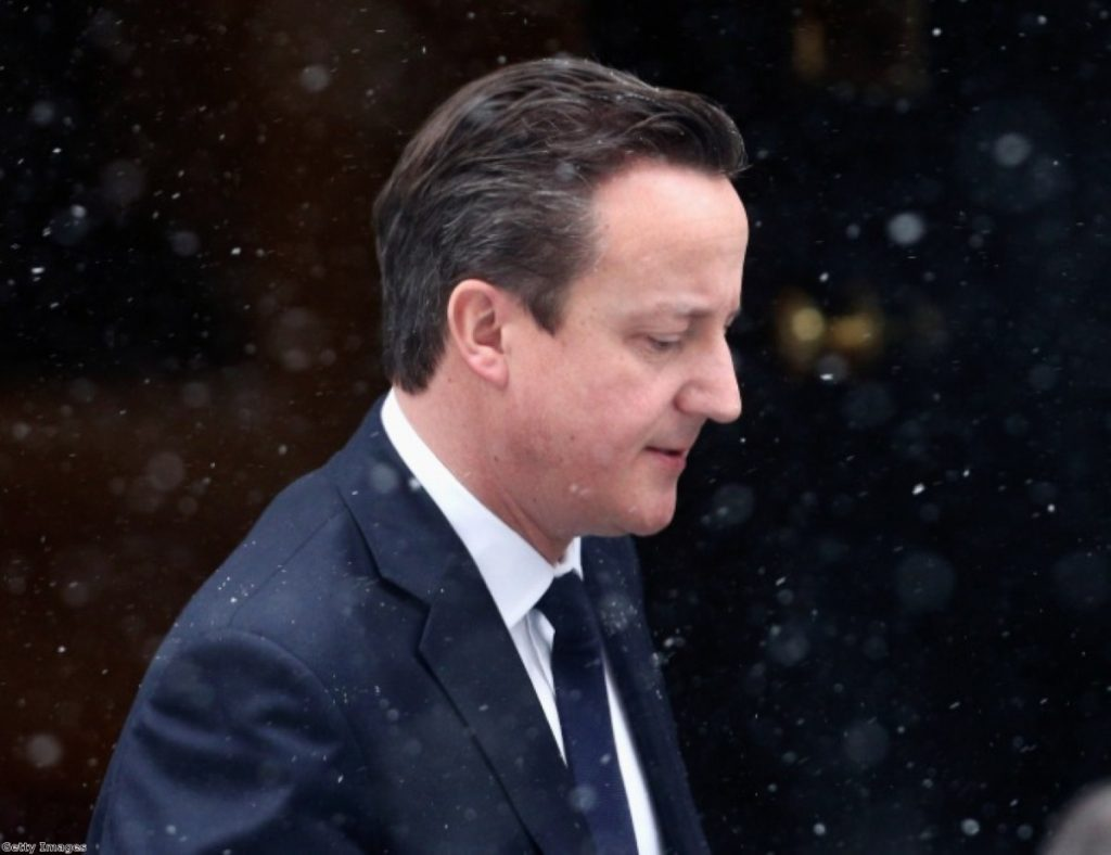 David Cameron leaves Downing Street on Friday to address the Commons about the hostage crisis in Algeria