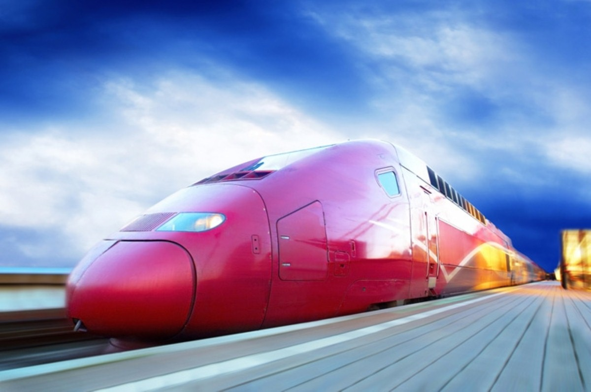 An HS2 train: The project's defenders have struggled to get their voice heard over the last few months