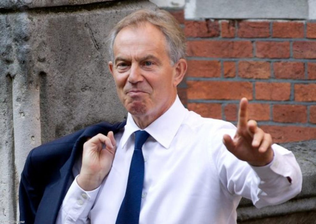 """Tony Blair says Labour faces a """"big challenge"""" this year"""
