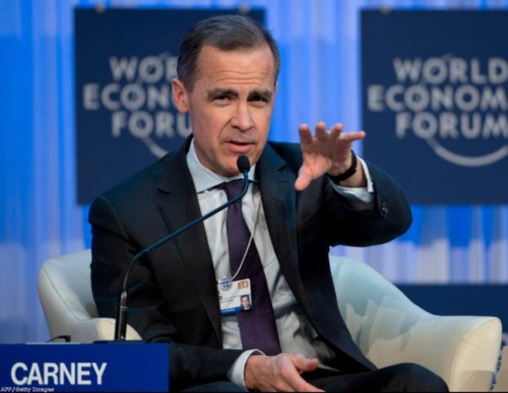 Mark Carney will take over at the Bank in July