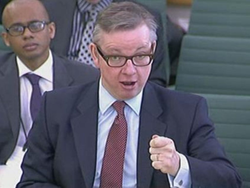 Michael Gove stood by his special advisers in a bitterly fought session.