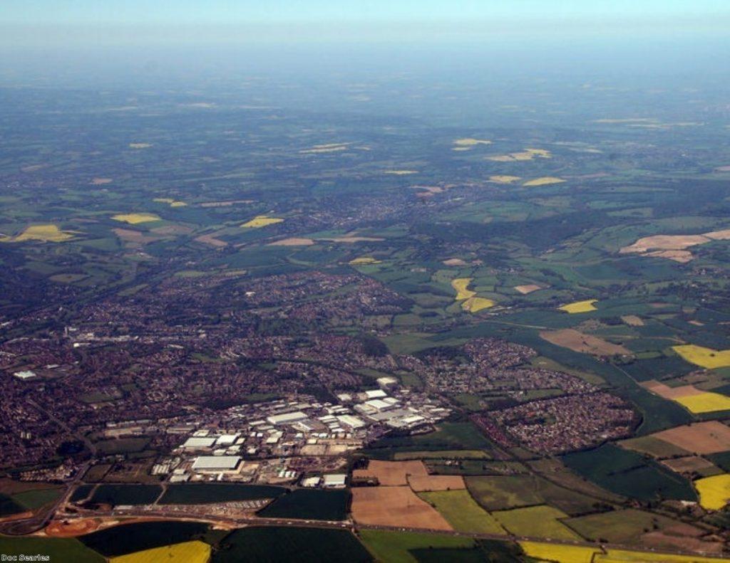 Hemel Hempstead, nestled in thoroughly Conservative Hertfordshire
