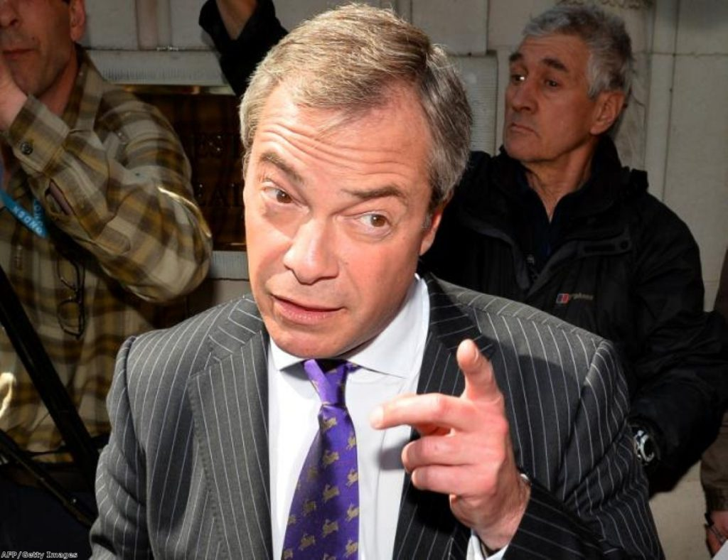 Always the bridesmaid, never the bride: Ukip comes second once again