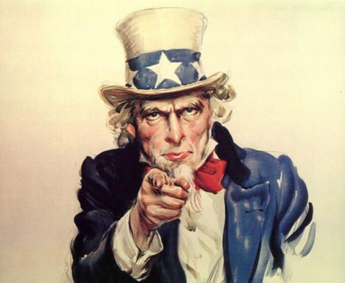 Uncle Sam wants YOU... to attend the British Library's propaganda exhibition