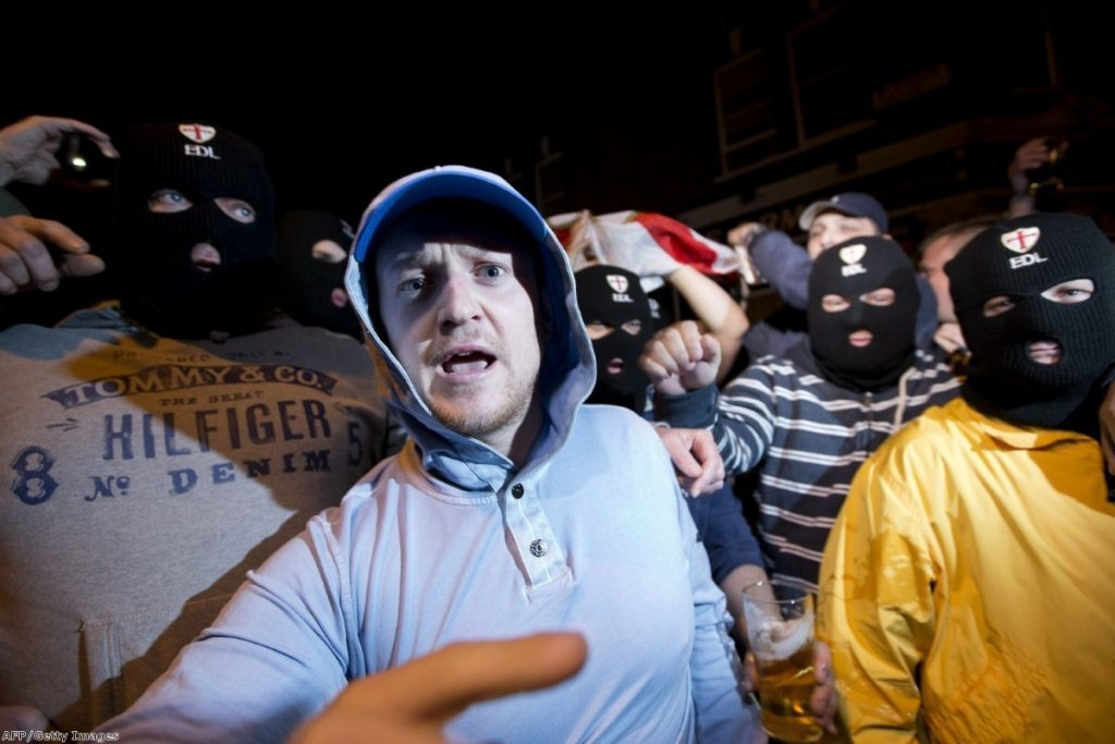 The EDL march last night: How much coverage should the media be giving them?