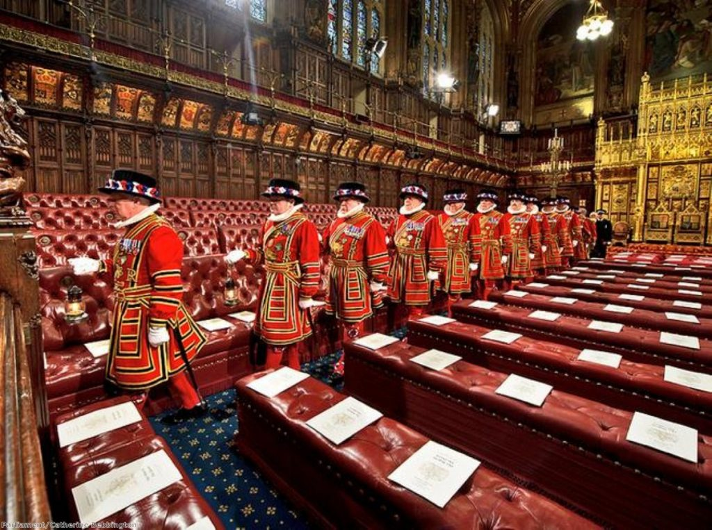 Time for a clear-out? Lords numbers could be culled by Clegg proposal
