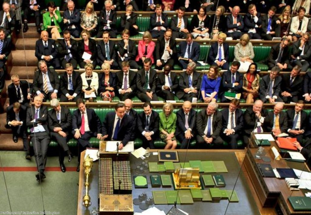 Lack of support? Membership rates have fallen dramatically since Cameron became leader