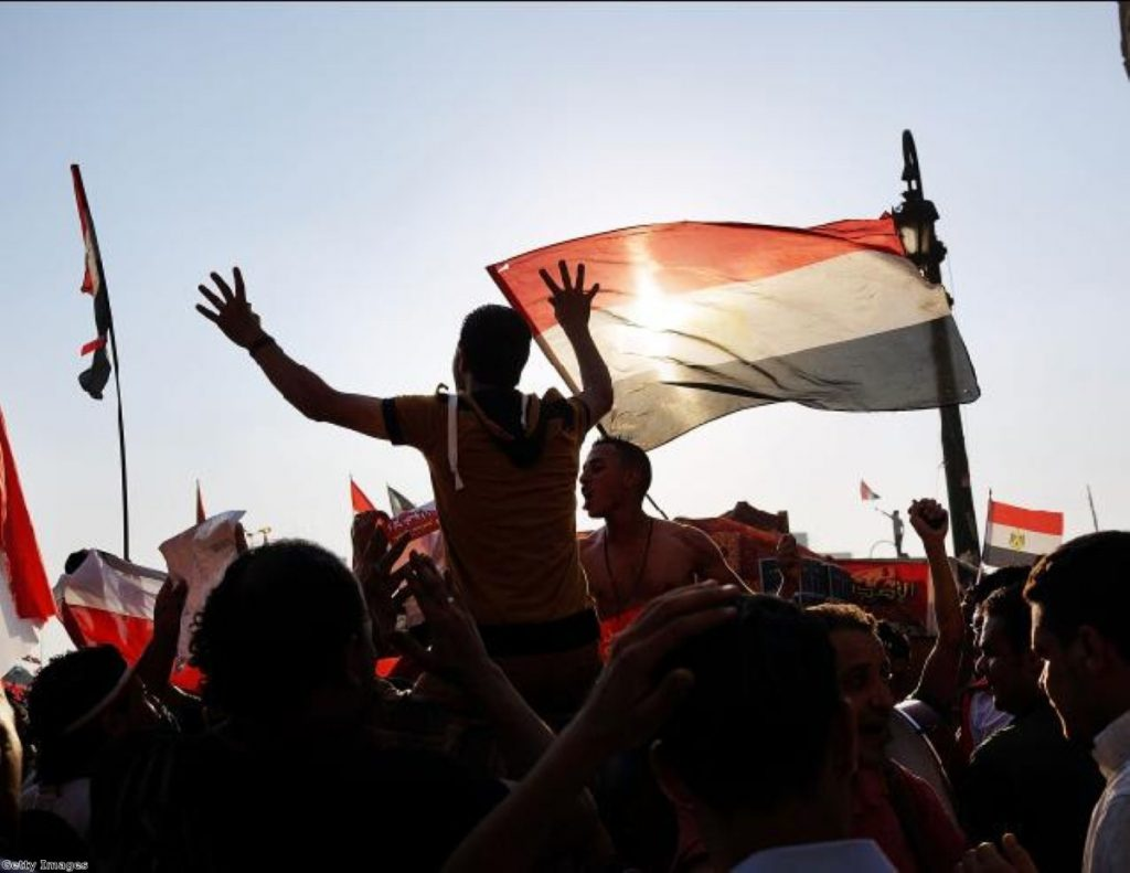 Celebrating the end of democracy in Egypt