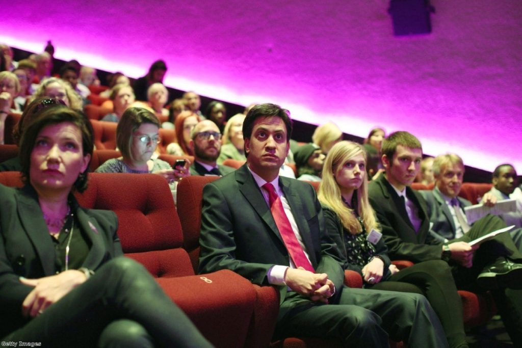 Ed Miliband attends the launch of 'MindFull' last month