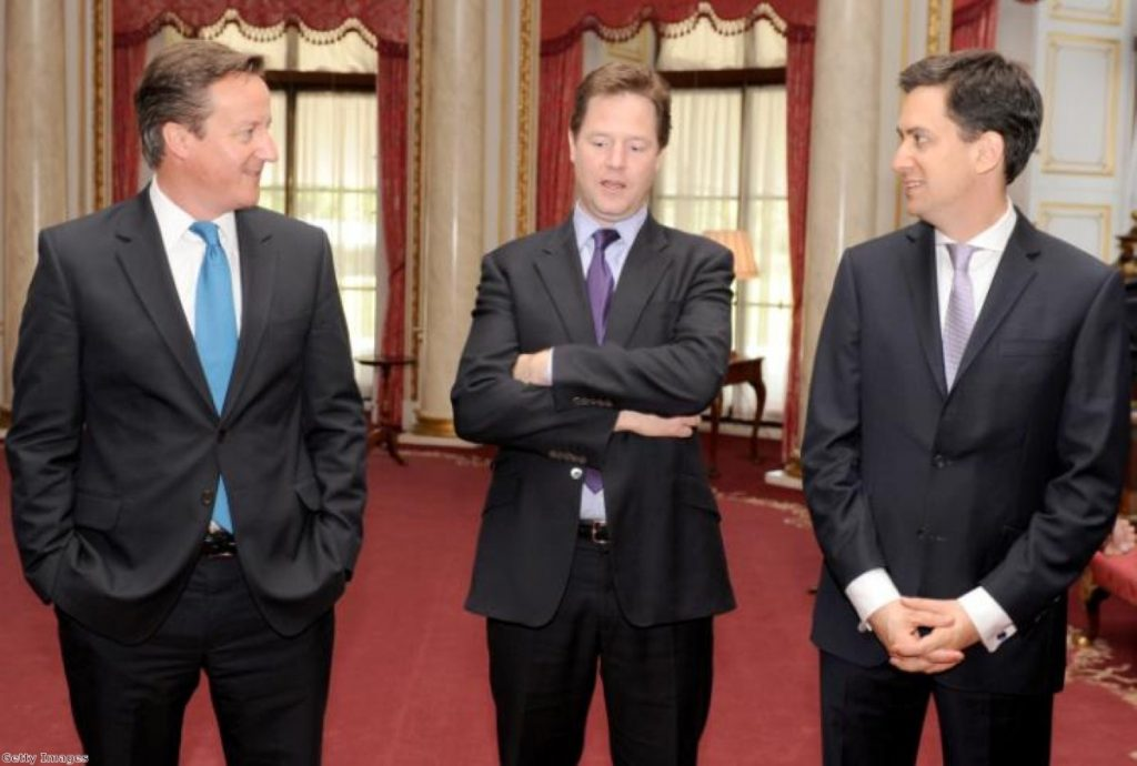 Nick Clegg: Stuck in the middle