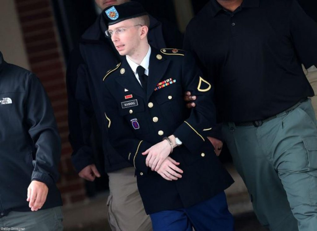 Bradley Manning: Sentenced to 35 years in jail, and now wants to be known as 'Chelsea'