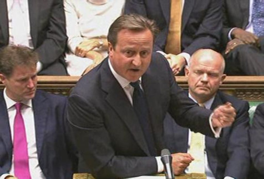 David Cameron recalls parliament to secure a vote on Syria. His defeat arguably ended international efforts for intervention.