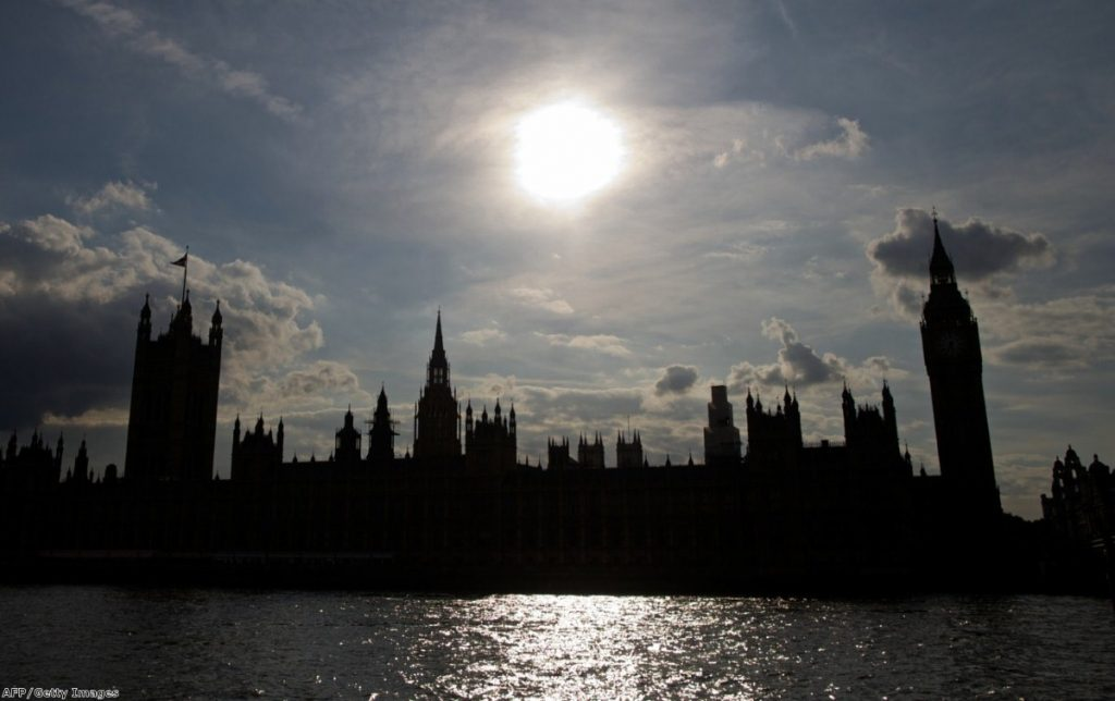 The sun rises over parliament: The vote last night say the institution effectively veto a foreign policy decision by the prime minister