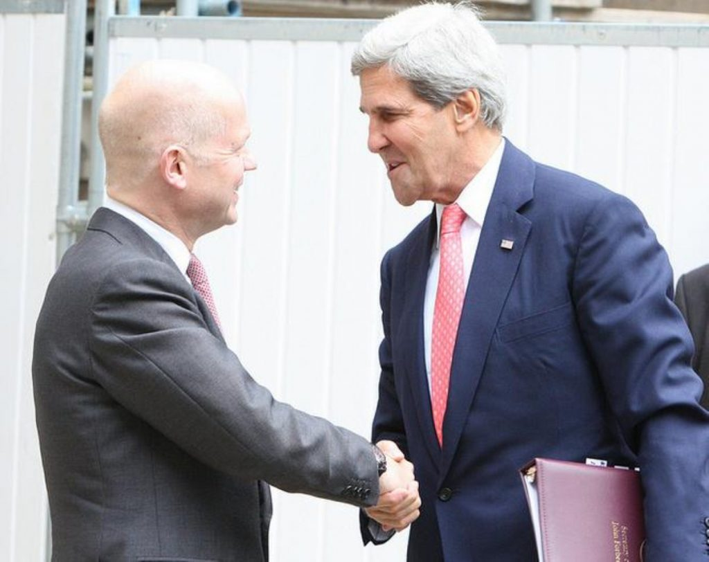 William Hague and John Kerry: The special relationship downgraded?