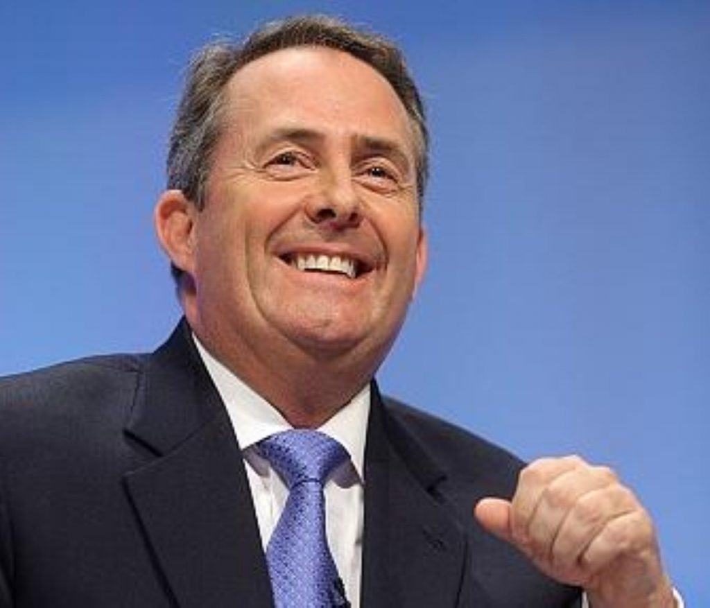 Liam Fox: On the up once more