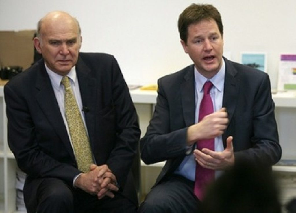 Coalition split is possible says Vince Cable