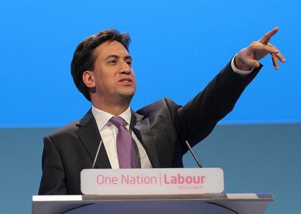 Miliband: Still refusing an EU referendum