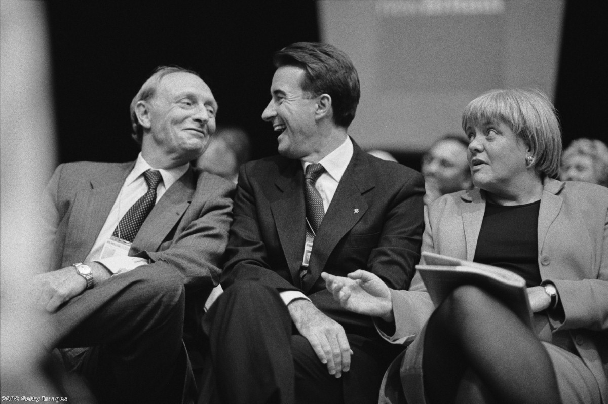 Peter Mandelson preparing for government in 1997