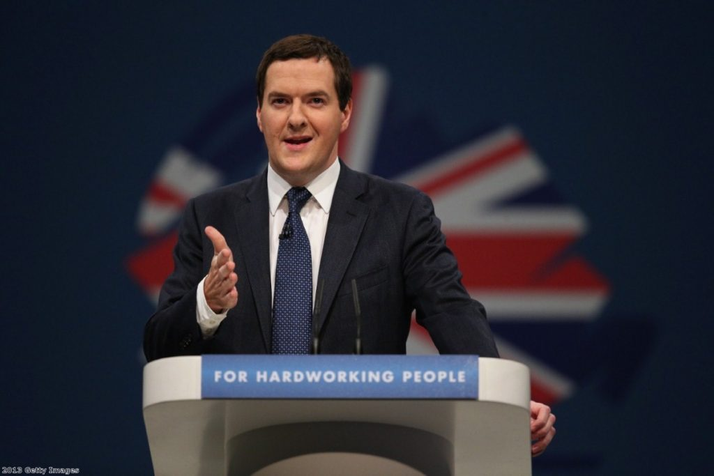 Osborne: ending the 'something for nothing culture'