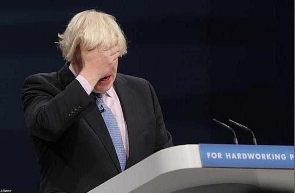 Watching Boris Johnson interview is like watching someone 'staple blancmange to a stick'