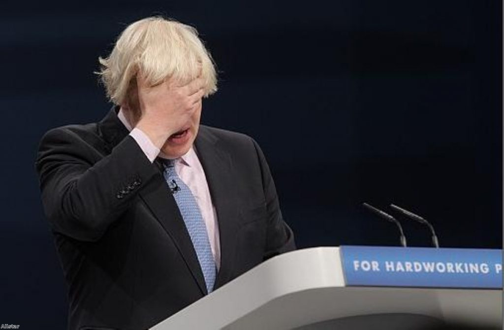 Boris celebrates greed as economic motivator