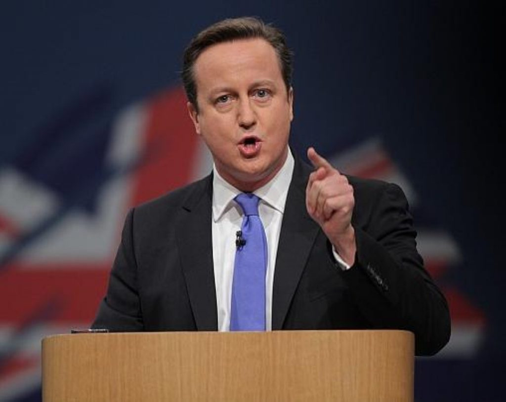 """Cameron promised a new """"land of opportunity"""""""