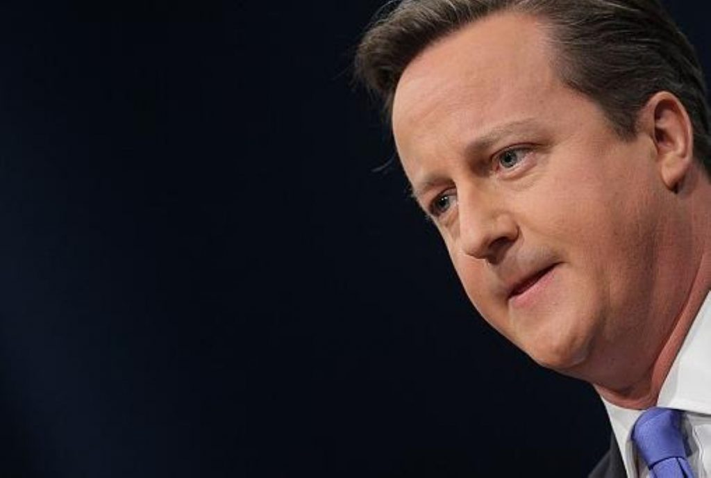 Cameron on a familiar path in 2014 conference speech