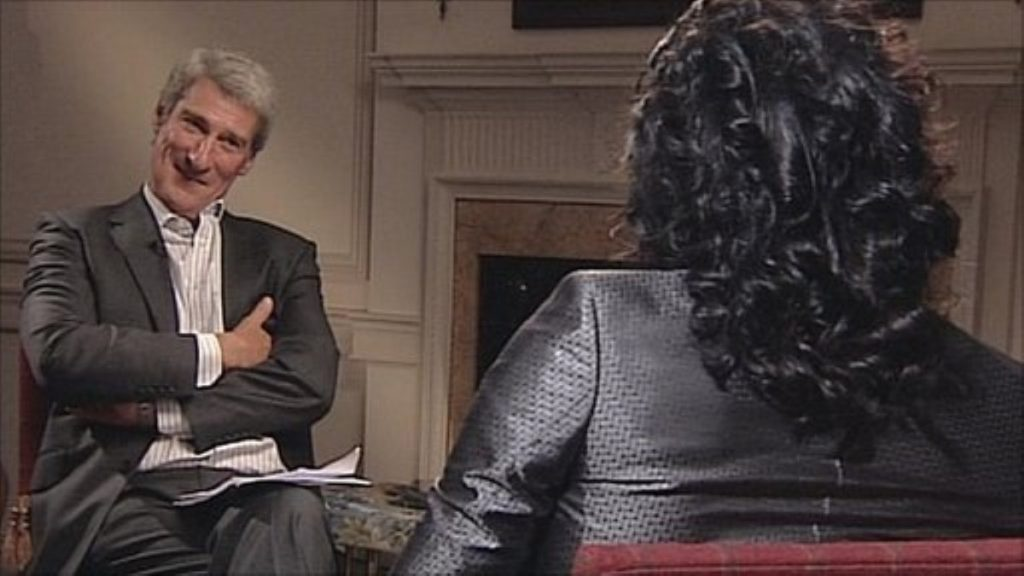 Paxman vs Brand: Interview on voting, revolution and apathy went viral