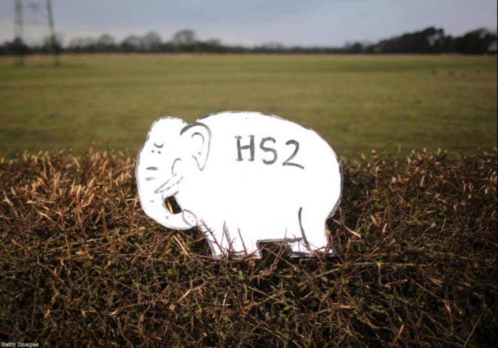 Opponents have a simple message when it comes to HS2
