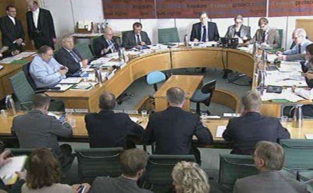 MPs grill Big Six representatives - sort of.