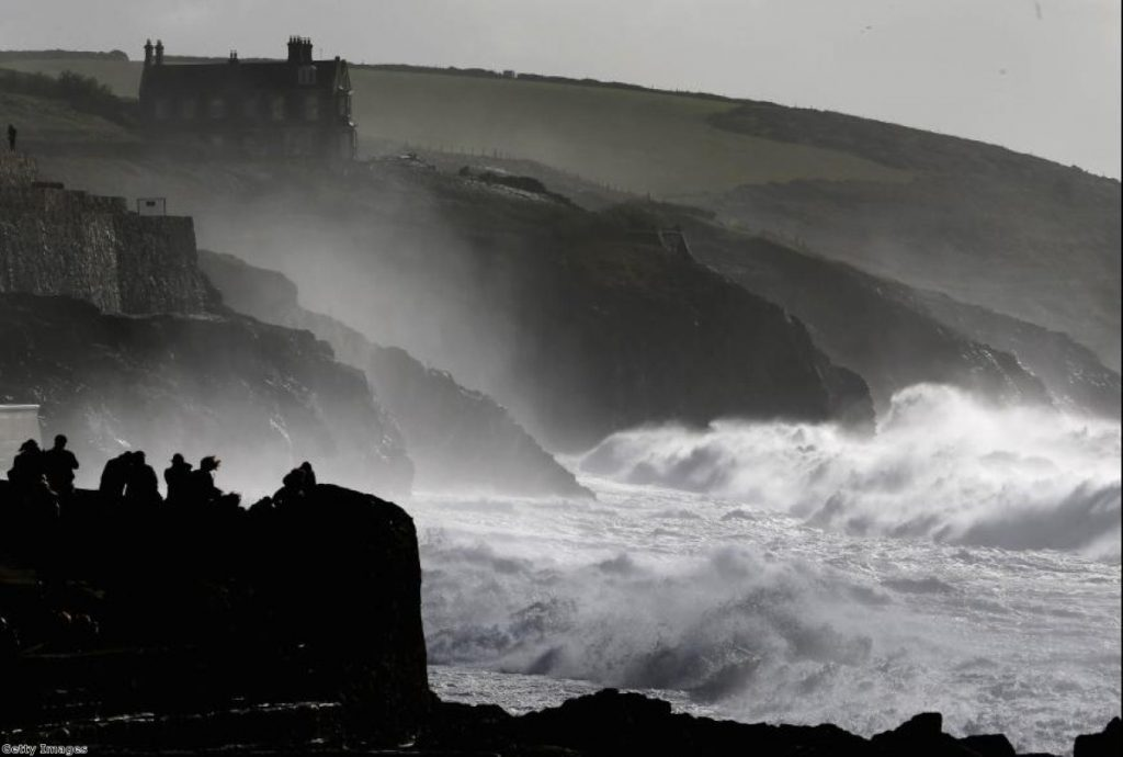 Stormy weather. No, it really was stormy this week