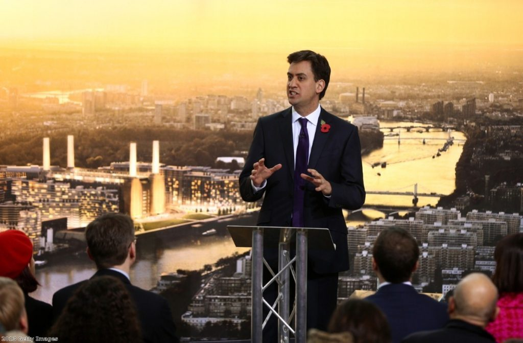 Ed Miliband is no longer the liability the Conservative party had hoped for.