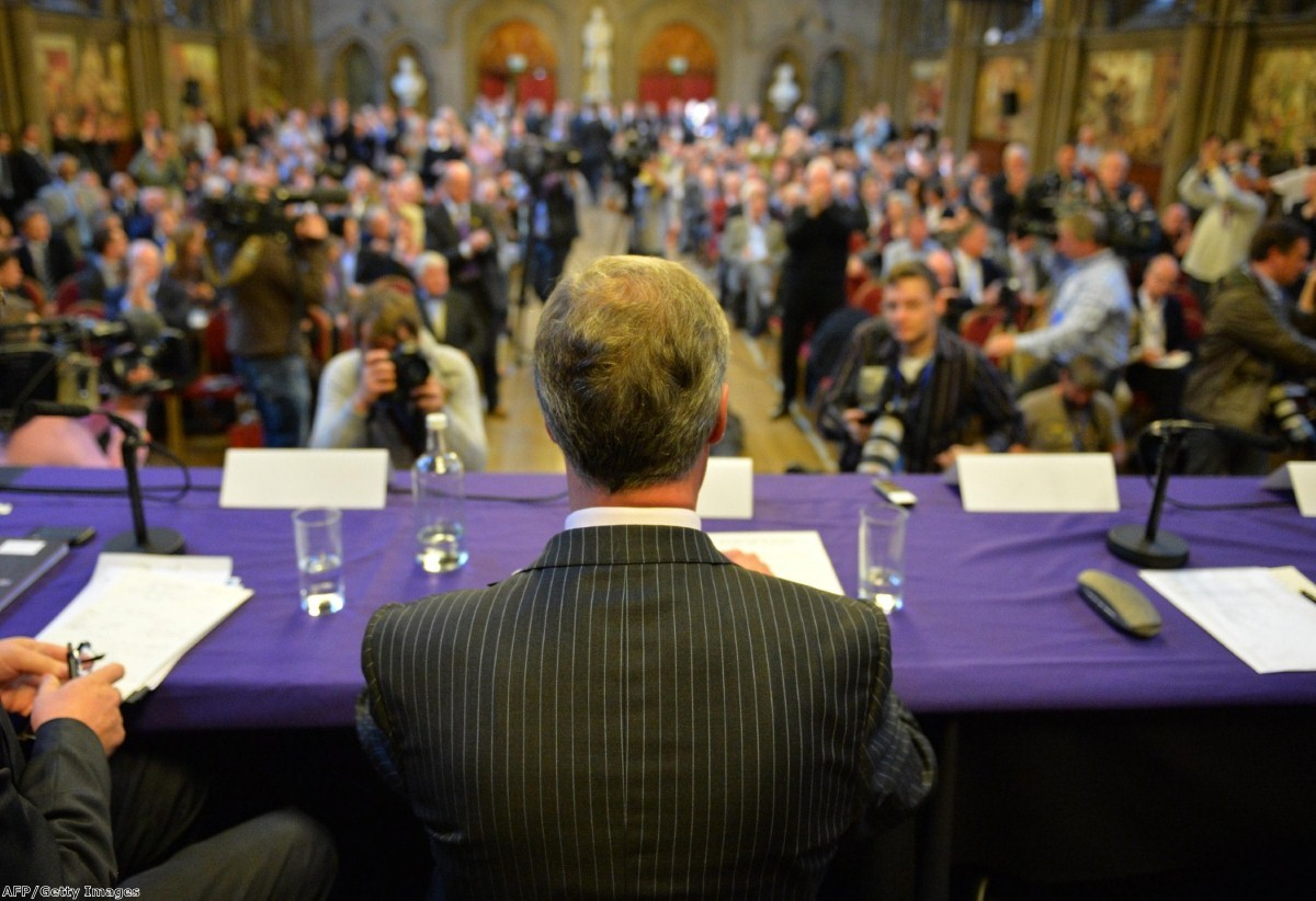 Farage at the Ukip conference last year: the Ukip leader wants a more disciplined party