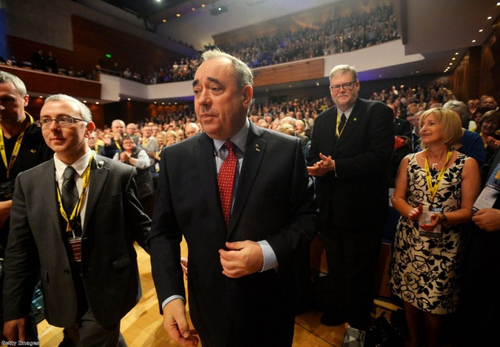 Pressure's on: Salmond faces war on two fronts