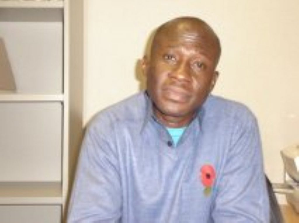 Isa Muazu was on hunger strike for 90 days when he was deported