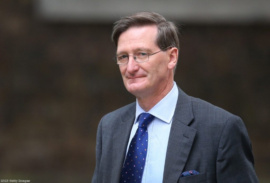"""Dominic Grieve: """"Sorry if I have caused any offence""""."""