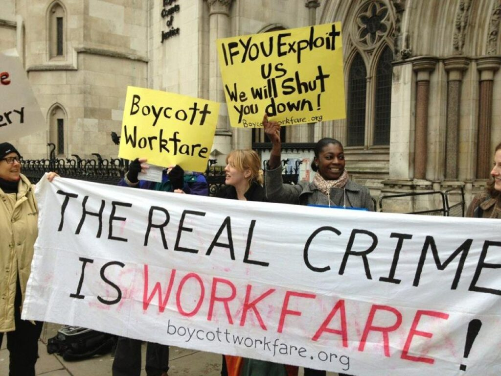 'Workfare' protestors will target today's event at Senate House