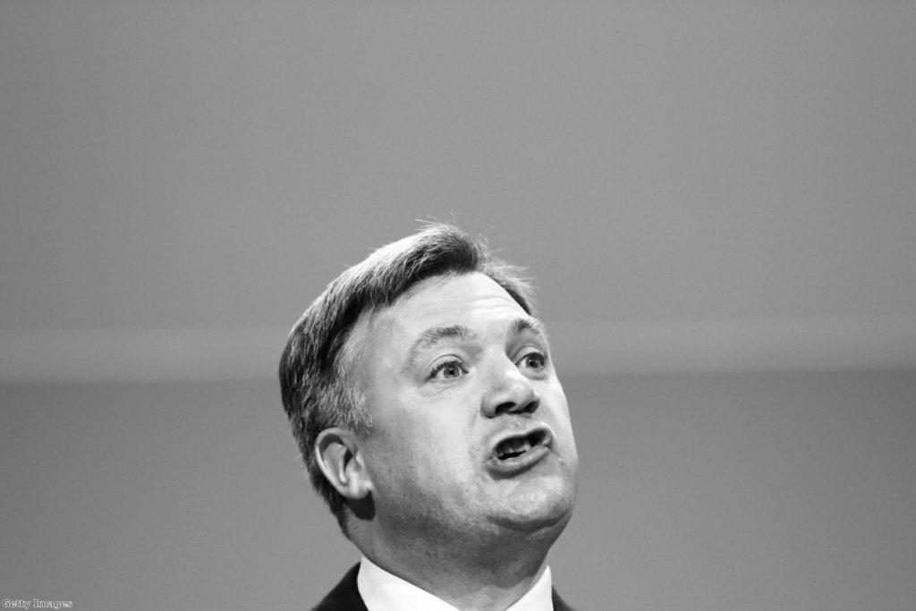 Ed Balls: Tough gig for the shadow chancellor